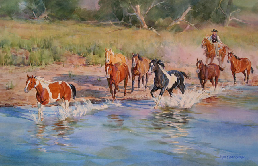 horses jane coleman Breaking Away