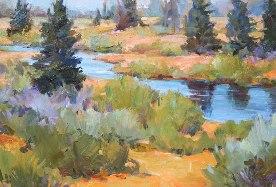 Jane Coleman Black Tail Ponds Overlook HOME
